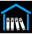 Medical Library Icon vector image