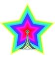 Wi Fi Wireless Network Symbol vector image vector image