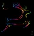image of an deer vector image vector image