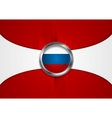 Russian Federation background vector image vector image