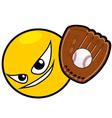 baseball icon vector image