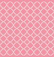 traditional quatrefoil lattice pattern outline vector image