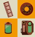 film concept vector image