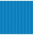 Wavy line blue seamless pattern vector image vector image