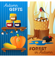 Autumn Vertical Banners vector image