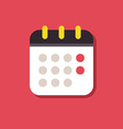 Calendar icon Icons for smartphones and tablets vector image
