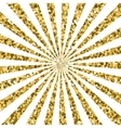 Abstract gold glitter background sparkles and vector image