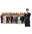 Business team group vector image