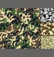 creative universal hand drawn seamless pattern vector image