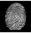 Fingerprints vector image