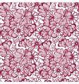pattern flower vector image vector image