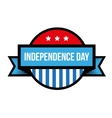 Independence Day - Fourth of July vintage stamp vector image