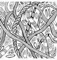 Abstract of snakes vector image