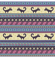 Tribal seamless pattern in vector image