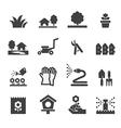lawn icon vector image