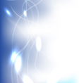 Clean Blue Background vector image vector image