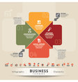 Business Teamwork Concept Graphic Element vector image