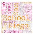 Should San Diego Schools Students Pray text vector image
