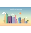 Building color vector image
