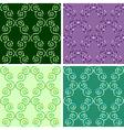 seamless mosaic pattern set vector image