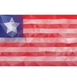 Liberian flag vector image