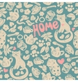 Sweet Home seamless pattern vector image vector image