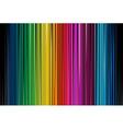 Colorful Black Stripe vector image