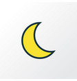 lunar colorful outline symbol premium quality vector image