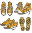sportshoesset vector image