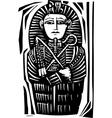Egyptian Sarcophagus vector image