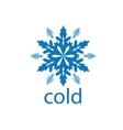 logo cold vector image vector image
