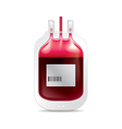 donate blood isolated vector image