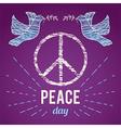 International peaceday poster vector image