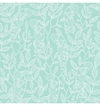 mint green floral texture seamless pattern vector image