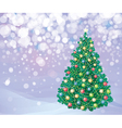 tree background vector image vector image