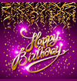 concept party on dark background top view happy vector image