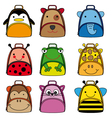 backpacks for school children vector image