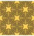 yellow seamless ornament vector image vector image