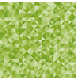Abstract green triangles vector image