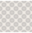 Round Geometric Linear Seamless Pattern vector image