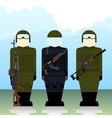 Special Forces soldiers vector image vector image