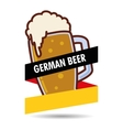 premium quality german beer vector image