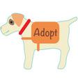 Adopt vector image