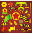 army day holiday element set no transparent vector image