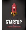Startup Business Background vector image