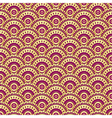 Vintage gold and purple seamless pattern vector image vector image