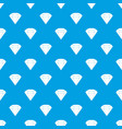 brilliant gemstone pattern seamless blue vector image