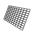 solar panel black color icon vector image