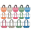 fashion handbag design vector image vector image