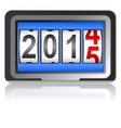 2015 New Year counter vector image vector image
